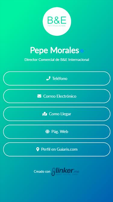Tarjeta Pepe M.